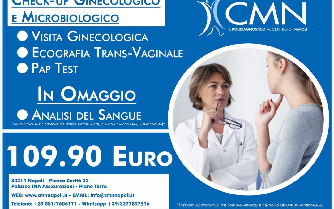 Check-Up Ginecologico e Microbiologico