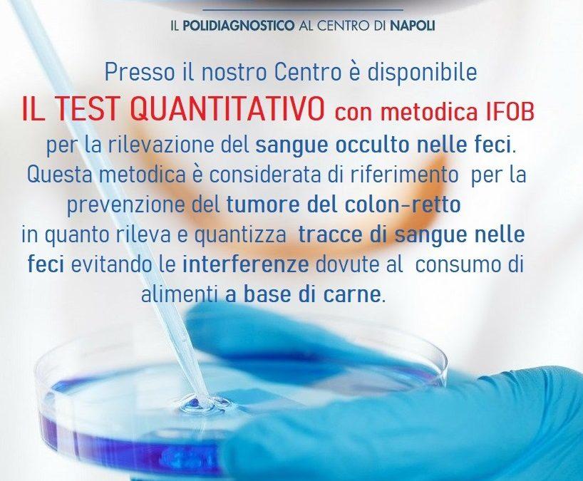Test Quantitativo con metodo IFOB